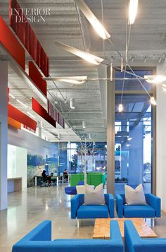 Nokia in Silicon Valley. Lobby.