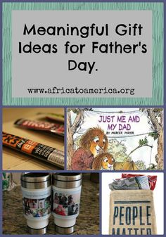 Easy Father's Day gift ideas.