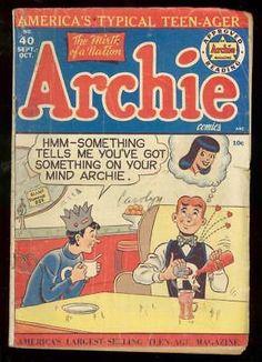 Archie Comic Books, Vintage Comic Books, Vintage Comics, Comic Books Art, Vintage Art, Comic Art, Archie Comics Veronica, Betty And Veronica, Classic Cartoons