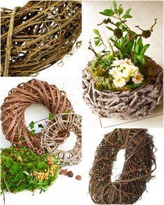 Die 49 besten bilder von holzkranz wood art wood rounds und wood slices - Holzkranz dekorieren ...