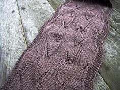 With this free pattern for the Shark Tooth Scarf, you'll be able to create your own eye-catching design using simple eyelet stitches. While the stitches are easy, the result is bold, dramatic and visually stunning. The muted color of the purple yarn helps give this scarf a rustic, vintage charm that only adds to its appeal.
