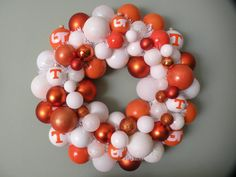 I want to make one of these, but Alabama themed. :) After Christmas ornaments go on sale!