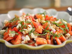 Try this recipe for Tomato Salad from Kimberly's Simply Southern featured on GAC!