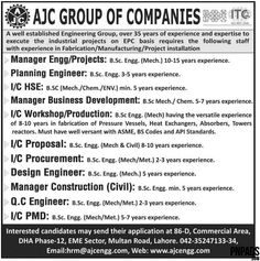 EngineeringBTechDae Jobs In Rupali Group Of Companies Pakistan