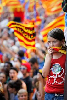 The New York Times: 'Rally Brings Strong Call for Catalan Fiscal Sovereignty' #news #politics #eu #usa | Infoindepe