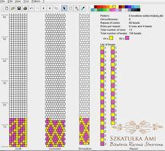 8 around bead crochet rope pattern Bead Crochet Patterns, Bead Crochet Rope, Seed Bead Patterns, Loom Patterns, Jewelry Patterns, Beading Patterns, Crochet Video, Crochet Beaded Bracelets, Beadwork Designs