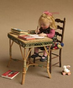 Catherine Munier dollhouse doll