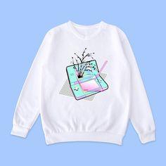 Vaporwave-tumblr-aesthetic NINTENDO jumper