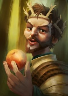 Renly Baratheon - A Song of Ice and Fire by Alexandre Leoni, via Behance