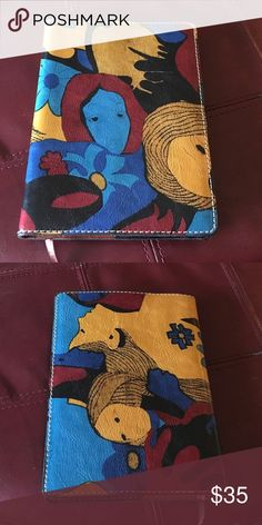 Patricia Nash leather journal Beautiful designed leather journal Patricia Nash Accessories