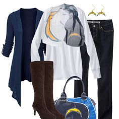 San Diego Chargers Fall Fashion