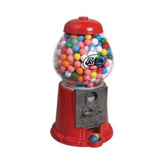 """Coin Operated Gumball Machine Toy Bank 8.5/"""" Dubble Bubble Classic Style Includes 45 Gum Balls Kids Coin Bank Great Gift for Boys /& Girls and Carnival Parties Fun Party Favor-Project Giveaways"""