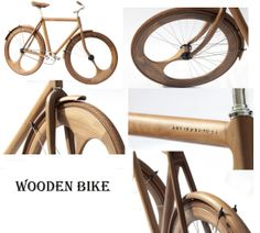 Wooden Bike (from My Homestead Gallery) Joinery, Wood Carving, Antique Furniture, Decorative Items, Mountain Biking, Homesteading, Woodworking Projects, Repurposed, Bike