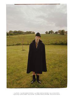 PHOTO BY BENJAMIN VNUK -  FASHION EDITOR GAELLE BON -  MODEL CONNOR NEWALL AT NEW MADISON MODELS -  GROOMING YUJI OKUDA AT AGENCE SAINT GERMAIN