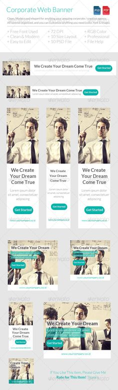 Corporate or Creative Agency Web Banner