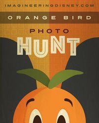 Disney Imagineering Orange Bird