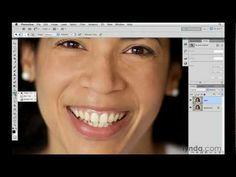 How to whiten teeth in CS5 video