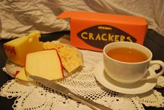 Wallace and Gromits cheese and crackers