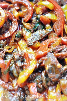 Duszone boczniaki z warzywami – Eksplozja Smaku