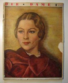 Zeitschrift, Die Dame, Heft 10, Zweites Maiheft, 1935, Mode in Berlin