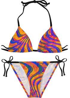 Colorful Trippy Art Fractal Mens Swimming Trunks Beach Board Shorts Ruched Waterproof Workout Short Pants Beachwear