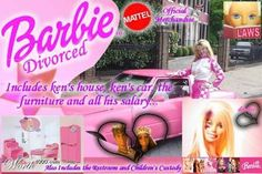 DIVORCED BARBIE: THAT BITCH MADE SURE SHE GOT IT ALL BEFORE LEAVING HIS CHEATIN ASS!