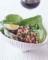 White Bean and Chorizo Salad with Olives Recipe from Food & Wine
