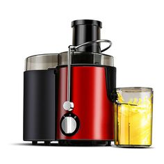 Aixinqi Multi-function Household Juicer Machine Juice Extractor Full automatic fruit and vegetable juicing machine (Red) Fruit Juice Machine, Juicer Machine, Macedonia, Machine A Jus, Puerto Rico, Blenders & Juicers, Cold Press Juicer, Fruit Juicer, Juice Extractor