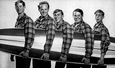 The Beach Boys in 1962.