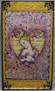 I need to stamp: Victorian heart / Victoriaans hart, third coast stamps