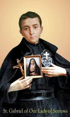 Catholic Religion, Catholic Art, Catholic Saints, Patron Saints, Roman Catholic, Catholic Orders, Catholic Priest, Saint Gabriel, Saint Dominic