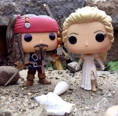 Pirates of the Caribbean, Jack Sparrow & Elizabeth Swan