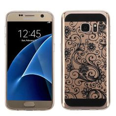 Excited to show off our newest arrivals! Black four-leaf C... Buy now http://jandjcases.com/products/black-four-leaf-clover-candy-skin-cover-for-galaxy-s7?utm_campaign=social_autopilot&utm_source=pin&utm_medium=pin