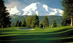 Mount Shasta Resort Golf Course, Mount Shasta, California. Photo by Kevin Lahey
