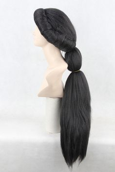 Disney's Aladdin Jasmine Princess Black Fluffy Style Heat Resistant Cosplay Wig,classi halloween cartoon cosplay costume wig 248 on Etsy, $38.00
