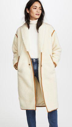 Madewell Cozy Sherpa Coat | SHOPBOP