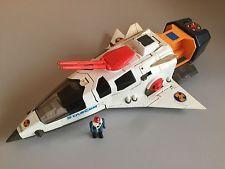 STARCOM STARMAX BOMBER white Mattel coleco