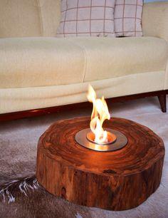 Lareiras ecológicas são uma ótima forma de decorara e aquecer sua casa ou escritório!