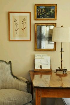home office artwork. Beautiful Home Office Space, Gorgeous Desk, Chair, Lamp \u0026 Artwork! Home Office Artwork N