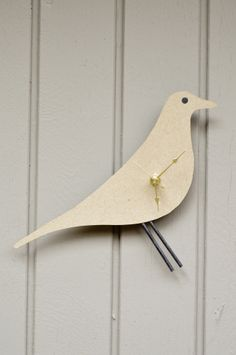 swoon studio: Eames inspired wall clock.