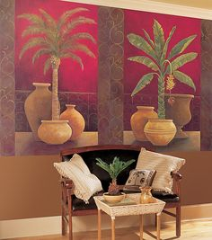 Tropical Mural  http://www.discount-wallcovering.com/images/murals/MDB043rs.jpg