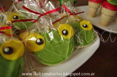 Dulcinea Tortas y demás dulzuras: Cookies, Cookie pops, cupcakes, Alfajores