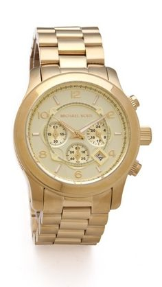 Oversized Watch by Michael Kors