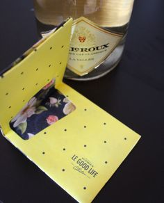 Eco paper designer wallet free with JC Le Roux bubbly onestilettoatatime.com Designer Wallets, Little Things, Pretty Little, Life Is Good, Bubbles, Paper, Free, Life Is Beautiful, Designer Purses