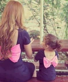 takie same sukienki dla mamy i córki/ Mother daughter matching dresses Mother Daughter Outfits, Mommy And Me Outfits, Future Daughter, Daughter Love, Girl Outfits, Daughters, My Baby Girl, My Little Girl, Baby Girls