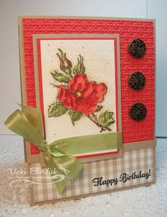 SC330.....Happy Birthday by justcrazy - Cards and Paper Crafts at Splitcoaststampers