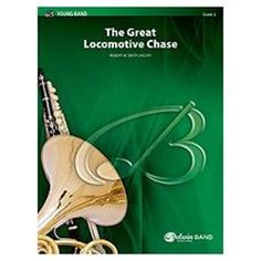 Alfred 00-BDM00030 The Great Locomotive Chase - Music Book - http://usa-mega.com/alfred-00-bdm00030-the-great-locomotive-chase-music-book/