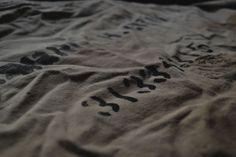 Vintage Fabric:1950~1970年代頃のアメリカでランドリーバッグとして使われていたファブリックをエプロンにリメイク。