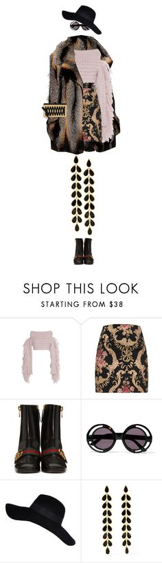 """""""eva1681"""" by evava-c on Polyvore featuring Barbara Bui, Philosophy di Lorenzo Serafini, Gucci, House of Holland, River Island, Ippolita and Edie Parker"""
