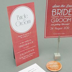 Wedding Stationery for the Summer
